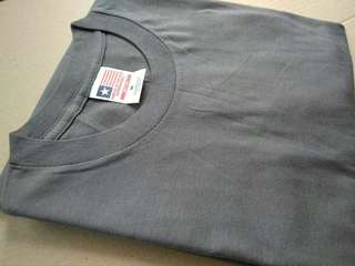 Kaos Polos Built Up 30s Grey