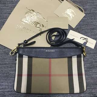Authentic Burberry LS Peyton HLA Sling Bag