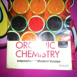 Organic Chemistry (11th ed)by Solomons, Fryhle &Snyder