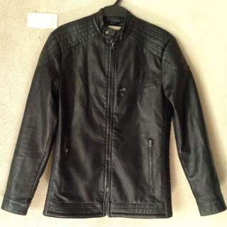 AUTHENTIC WRANGLER LEATHER JACKET