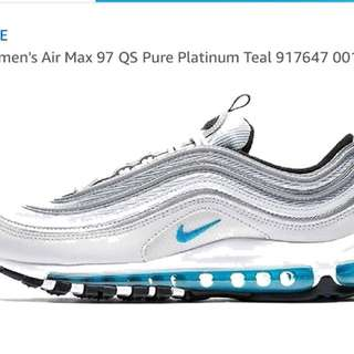 NIKE Air max97 woman's 全新限量