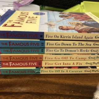 Preloved Famous 5 books