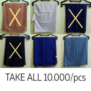 PASHMINA ITEMS | TAKE ALL 10.000/pcs