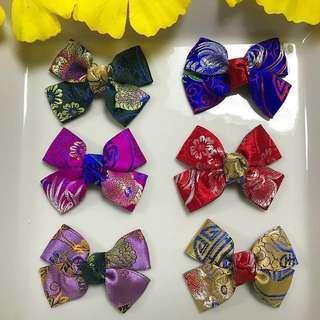 Handmade Ribbon Hairbow/ hair bow/ hair clip/ hairclip/ hair accessories