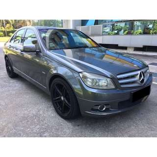 09/03-12/03/2018 MERC BENZ C180 ONLY $330.00 ( P PLATE WELCOME)
