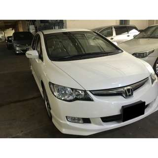 09/03-12/03/2018 HONDA CIVIC 1.8A ONLY $210.00 ( P PLATE WELCOME)