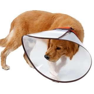 large breed dog XXXL Pet cat Dog E-Collar Elizabethan collar/ wound healing/ e collar
