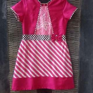 Dress batik sisa butik