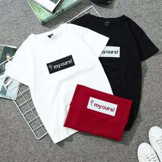 Preoder *8025.  T shirt (3colour) 1/3