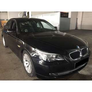 09/03-12/03/2018 BMW 520 ONLY $390.00 ( P PLATE WELCOME)