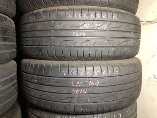 215/65R16 Dunlop Used Tyres