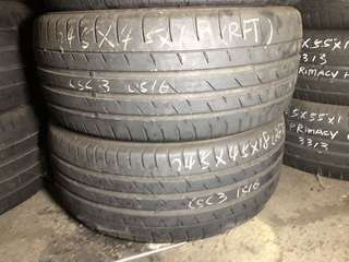 245/45R18 Continental RunFlat Tyres
