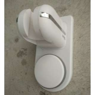 Shower Holder with or without drilling hoile on wall