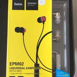 Hoco earphone with mic