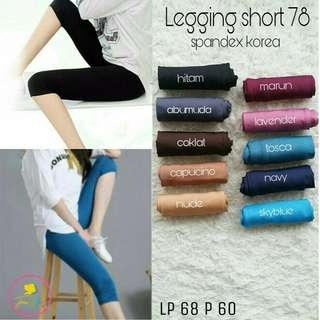 Legging short 78