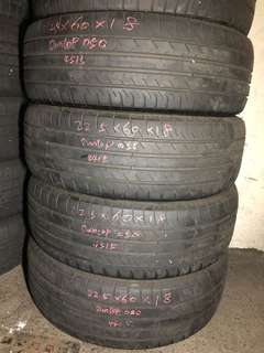 225/60R18 Dunlop Used Tyres