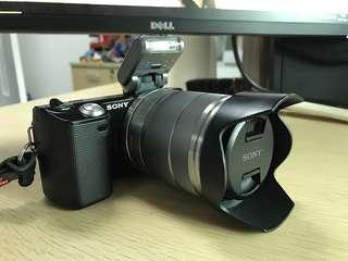 SONY NEX-5C 連 E 18-55mm (f/3.5-5.6) OSS 鏡頭 無反相機, 可換鏡頭, 旅行 Camera 90%NEW