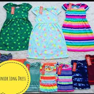 Junior Long Dress