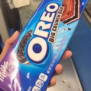 Milka oreo crunch bar
