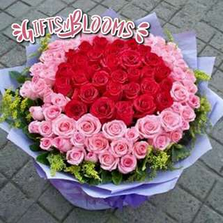 Beautiful Fresh Flower Surprise for Special One Bouquet V3 - EONUF