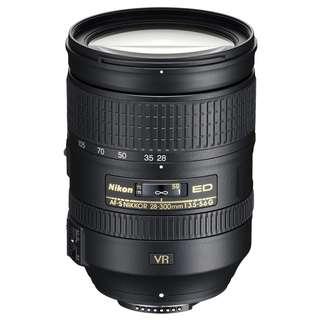 🚚 NEW Nikon 28-300mm f3.5-5.6 AF-S G ED VR Full Frame Lens