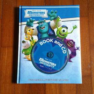 Monsters University (Children Book and CD)