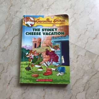 Geronimo Stilton (The Stinky Cheese Vacation) #57