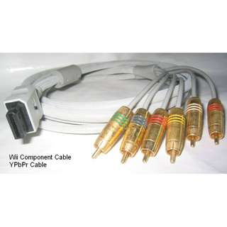 Wii cable YPbPr (6 pods) . 2.4metre long