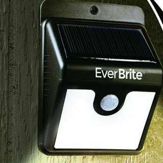 Ever Brite Motion Solar Outdoor LED Light