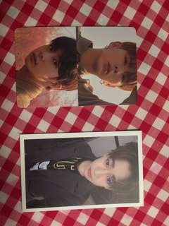 BAMBAM OFFICIAL PHOTOCARD AND HYUNGWON+KIHYUN SG CARD