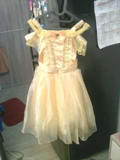 Sewa baju princess belle