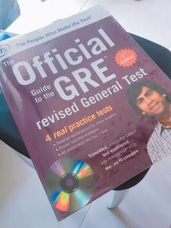 GRE Official 2nd Ed