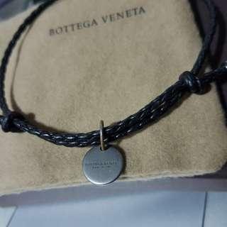 Bottega Veneta Intrecciato Leather Double-Band Bracelet