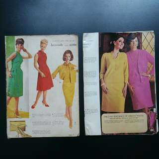 Vintage Dressmaking Books (1960-70s)