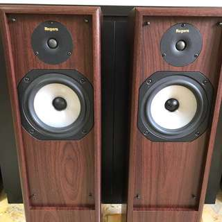 Rogers GS5 Floor Standing Speakers Made in UK. Near perfect condition.