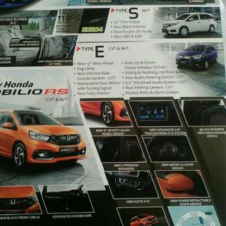honda mobil all type