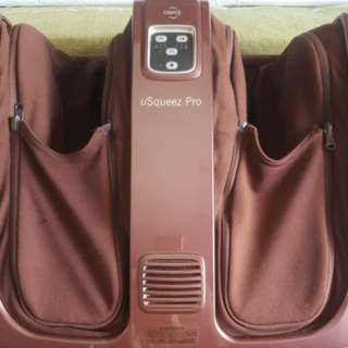 OSIM Usqueeze Pro OS 8008 and Calf and Foot Massager