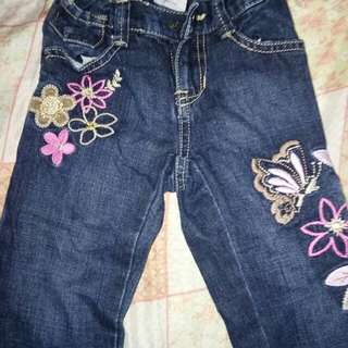 Branded jeans for 3 to 7 yrs old