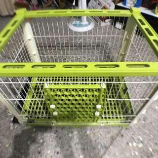 組合式寵物籠環球買時三千多,三分之一的價格入手最滑算因爲寵物已送人了用不到