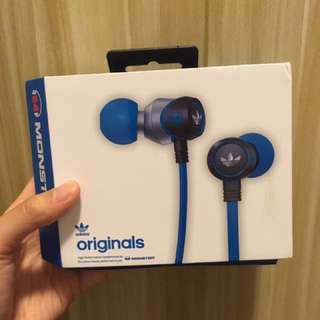 全新Monster × adidas Originals 別注版入耳式耳機