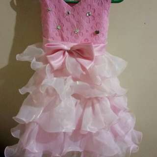 Gown for 3 to 7yrs old