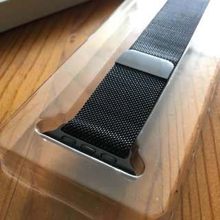 High quality Black metal loop magnetic - Apple Watch 42mm