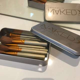 Naked Urban Decay Brushes 11Pieces $20