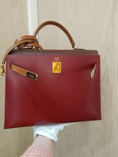 Hermes kelly 35 mult color