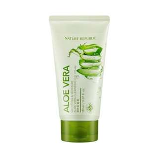 NATURE REPUBLIC ALOE VERA FACE WASH