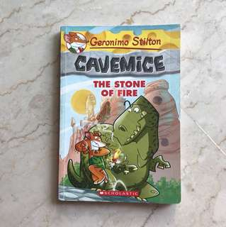 Geronimo Stilton - Cavemice (The Stone of Fire) #1