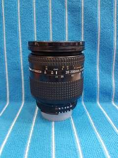 Nikon Af 28-200 D  Lens