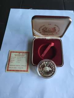 Spore 1984 Year of Rat $10 Silver Proof Coin