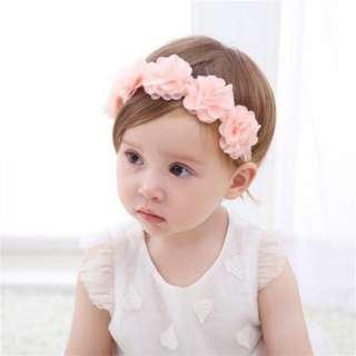 Flower Baby Headband