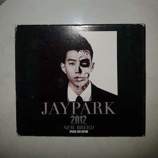 SIGNED JAY PARK ALBUM- NEW BREED SPECIAL ASIA EDITION